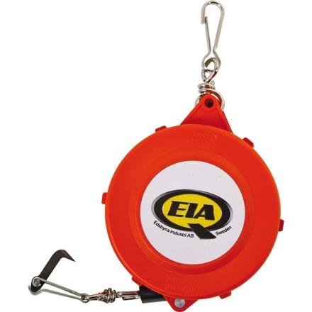 Forstmaßband 15m der Marke EIA mit Kuststoffgehäuse und geschmiedeten Haken