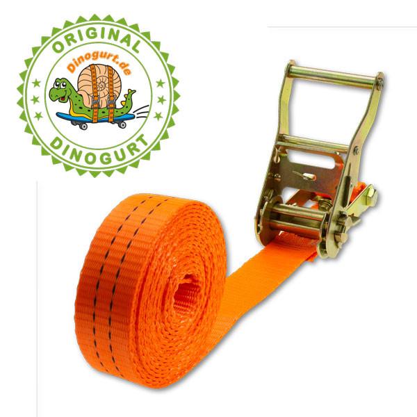 Zurrgurt 1-teilig, Breite 35mm, Länge 4m, Gurtlast 2000kg in DIN EN12195-2 geprüfter Qualität