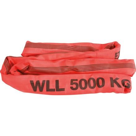 Rundschlinge in Farbe rot Belastbarkeit bis 5To. verschiedene Längen