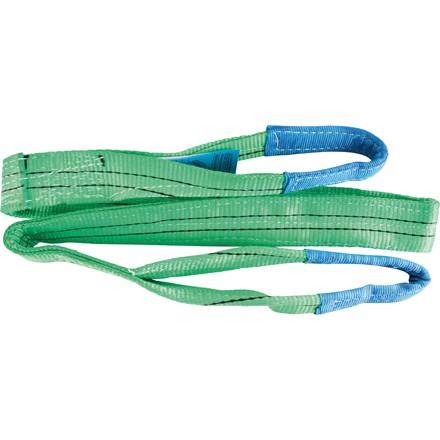Schlaufenhebeband Farbe grün Belastbarkeit bis 2To. verschiedene Längen