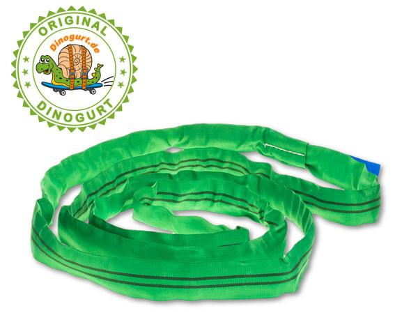 Rundschlinge Länge 4m, Gurtumfang 8m, Tragkraft 2000kg, Farbe grün mit Sicherheitsfaktor 7:1