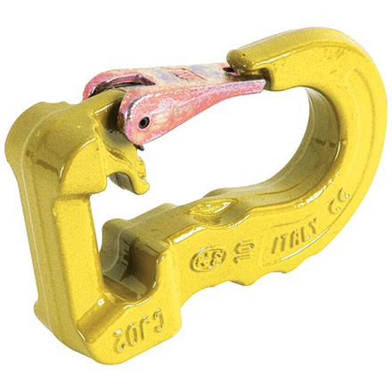 Rundschlingenhaken in Farbe gelb mit max. Belastbarkeit bis 3Tonnen, Cartec 100, Güteklasse 10