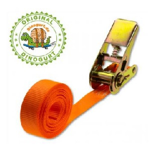 Zurrgurt 1-teilig, Breite 25mm, Länge 4 m, Gurtlast 500kg in DIN EN12195-2 geprüfter Qualität