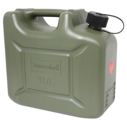 Kraftstoff-Kanister Profi mit 10l Fassungsvermögen Universal mit Einfüllstutzen am Kanister befestig