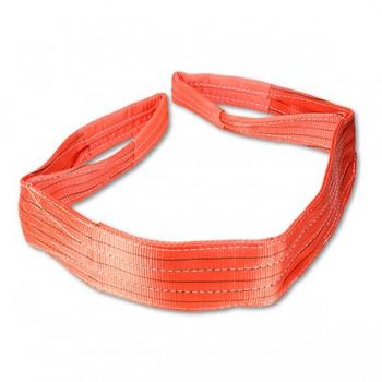 Rundschlinge Länge 4m, Gurtumfang 8m, Tragkraft 5000kg, Farbe rot mit Sicherheitsfaktor 7:1