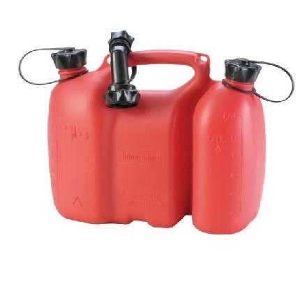 Doppelkanister mit 3l und 1,5l in komplett mit Ausgießer in Top Qualität